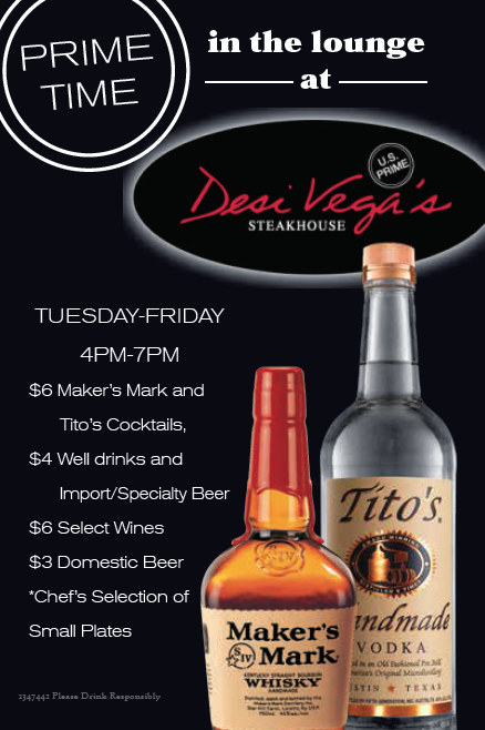 Desi Vegas Steaks Happy Hour